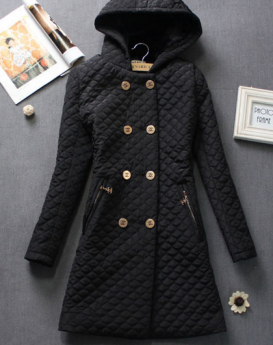 Double-breasted-hooded-padded-warm-jacket-1