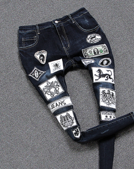 Fashion-wild-seal-the-hole-jeans-1
