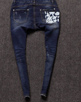Gradient-pattern-cartoon-palm-jeans-2