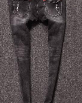 cartoon-curling-tidal-range-of-casual-jeans-2